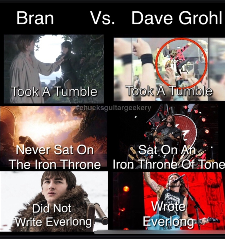 Dave Grohl should have been the king on Game of Thrones