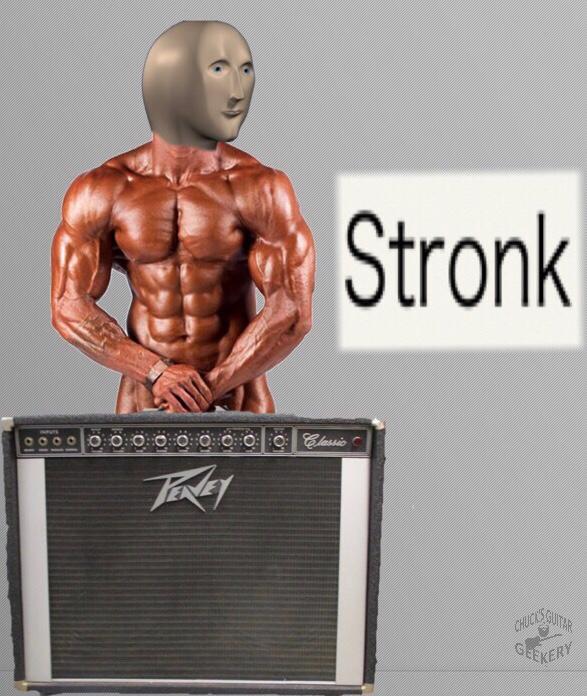 Stonks Peavey kvtl meme Guitar